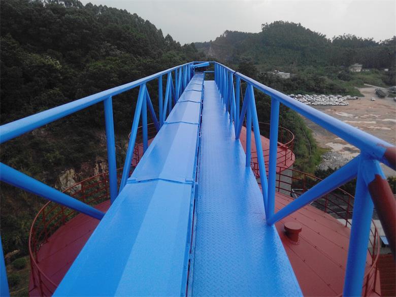 金银卡生物高空廊桥防腐翻新维修