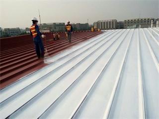 旧屋面涂层去除与翻新   爱信精机金属屋面翻新维护