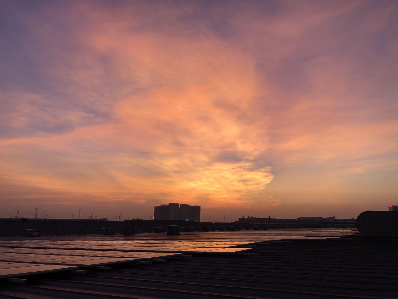 南沙美的光伏屋面防水工程